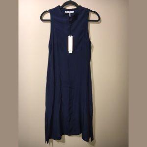 House of Harlow 1960 Dresses & Skirts - House Of Harlow Imogen Silk Midi Dress- Navy, S