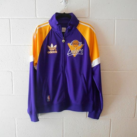 hot sale online 14d5c 4979a Men's LA Lakers Track Jacket