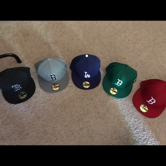 Authentic New Era Fitted Caps from Lids Never Worn 4b5f4c88b07