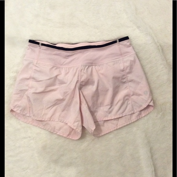 Lululemon Athletica Shorts Rare Lululemon Speed Short Pink Sparkle Glitter 4 Poshmark
