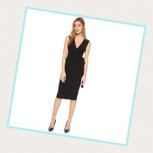 Norma Kamali Dresses & Skirts - Norma Kamali Black Wrap Dress.  Sz M