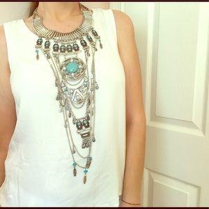 Jewelry - BoHo Statement Necklace NWOT