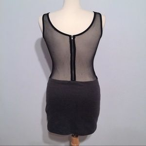 Foreign Exchange Dresses & Skirts - Sexy mesh back foreign exchange dress Small