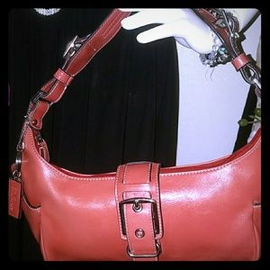 Bellerose Handbags - CLEARANCE! *BRAND NEW!* Bellerose Red Leather
