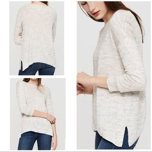 Lou & Grey Sweaters - EUC Lou & Grey Ribside Light Knit Pullover Sweater