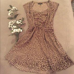 💞 🐆 Adorable Jessica Simpson Leopard Dress 🐆 💞