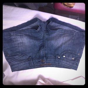 Pants - Free culture Jean short shorts, size 7