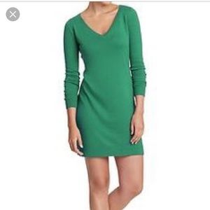MOVING SALE! Old Navy XS green sweater dress