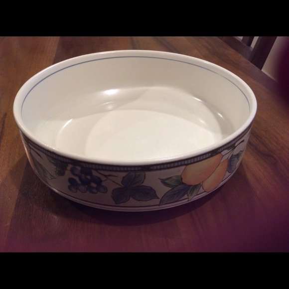 mikasa garden harvest serving bowl price reduced - Mikasa Garden Harvest