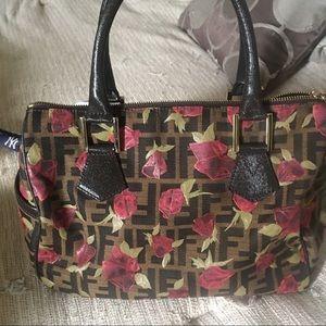 Authentic speedy style Fendi bag