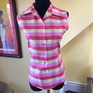Anne Carson Tops - Anne Carson silk shirt
