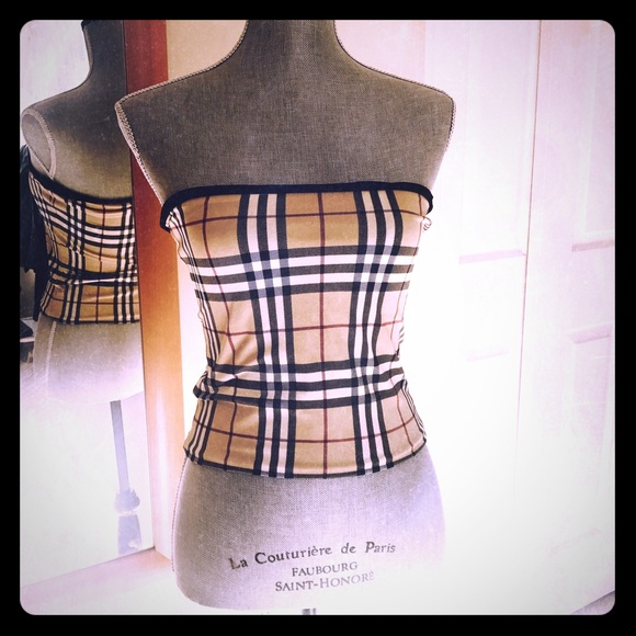 ac3dfc48c94 Burberry Tops - Burberry reversible tube top