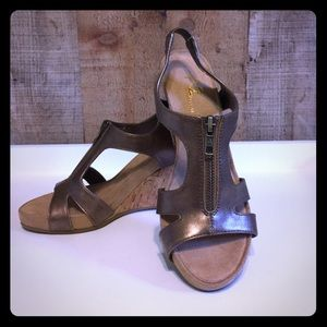 A2 By Aerosoles Shoes - A2 by Aerosoles Bronze Sandals
