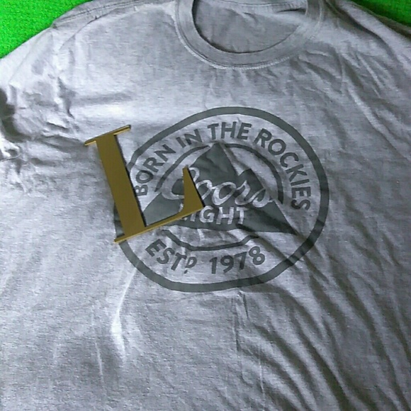 c7a31441780301 Born Other - SALE Born in the Rockies Coors Light Men s t