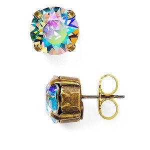Sorrelli Jewelry - SORRELLI ROUND SWAROVSKI STUD EARRINGS