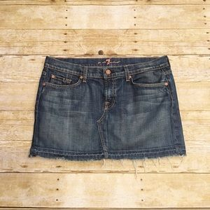 7 For All Mankind Dresses & Skirts - 7 For All Mankind denim Roxy skirt, size 31