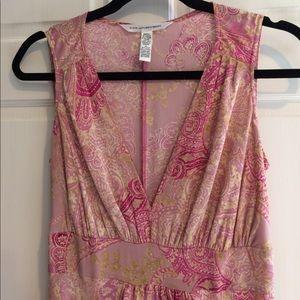 Diane von Furstenberg Dresses & Skirts - Diane Von Furstenburg silk dress sz M