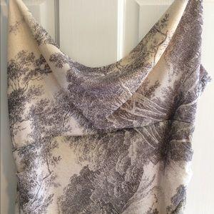 Diane von Furstenberg Dresses & Skirts - Diane Von Furstenburg silk crepe draped dress sz 8