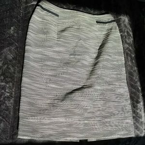 MakeYourOwnSale! Antonio Melani Navy & Cream Skirt