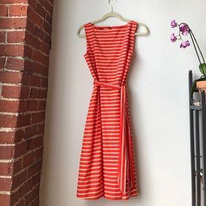 L.L. Bean Dresses & Skirts - L.L.Bean Signature Poplin Dress Field Poppy Size 8