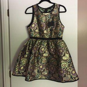 Ladakh Dresses & Skirts - Ladakh Opulence Decade Brocade Dress, Sz. 4