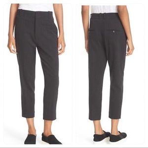 VINCE Tapered Leg Ankle Pants High Waisted