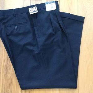 Was$25-REDUCED NWT Navy Pleated Front Dress Pants
