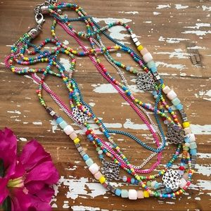 Jewelry - Just In🌸 Fun Summer Vibes Layered Necklace🌸