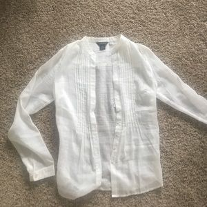 Victoria's Secret button up shirt