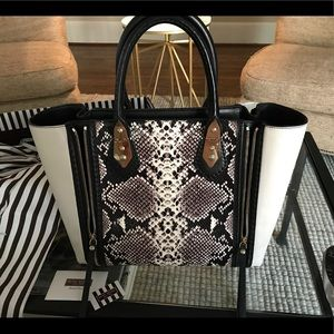 "Henri Bendel: ""The A List Small Tote Snakeskin"""