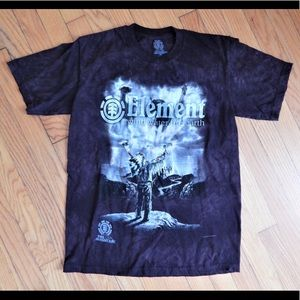 The Mountain Other - Men's Element Black Graphic T-Shirt Sz Small