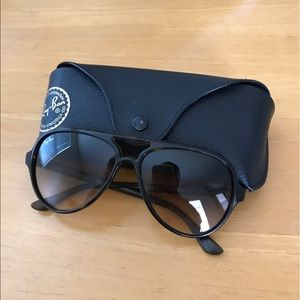 Ray-Ban Cat 5000 tortoise sunglasses