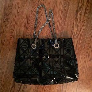 Big Buddha Handbags - Patent Leather Handbag by Big Buddha