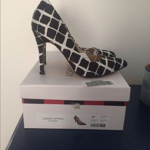 Adam Lippes For Target Shoes - NWT Black/White Pumps, size 6.5