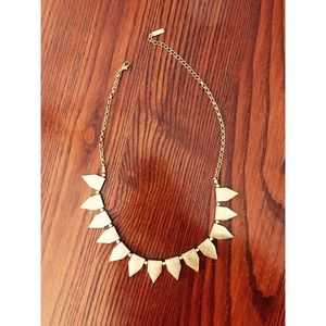 Bauble Bar Jewelry - Bauble Bar Gold Bib Necklace