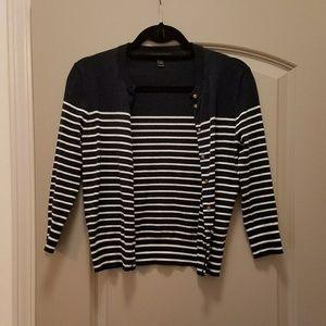 J. Crew Sweaters - J. Crew striped cardigan