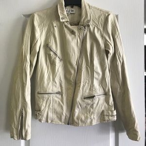 angel forever Jackets & Blazers - Forever 21 Faux Leather Jacket