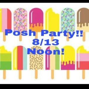 2nd party!!! 8/14 at noon!