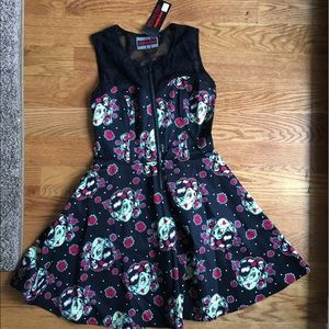 OFFERS WELCOME ⭐️ NWT Zombie Skater Dress w/ Lace