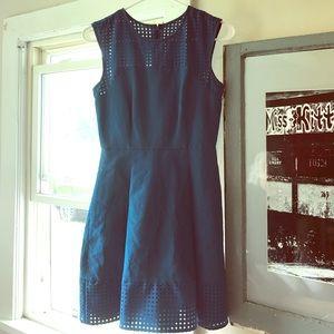 J. Crew Dresses & Skirts - Spring blue net dress