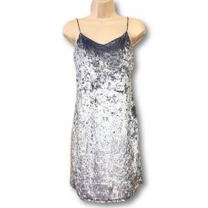 Polly & Esther Dresses & Skirts - Polly & Esther Blue Velvet Dress NWT