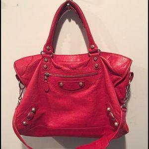 Balenciaga Handbags - Iconic Red leather Balenciaga City Bag