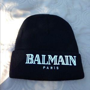 Balmain Other - Black Balmain Beanie ◼️