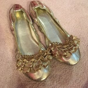 Wanted Shoes - Wanted Metallic Flats