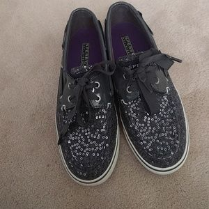 Sperry boats shoes sequinned