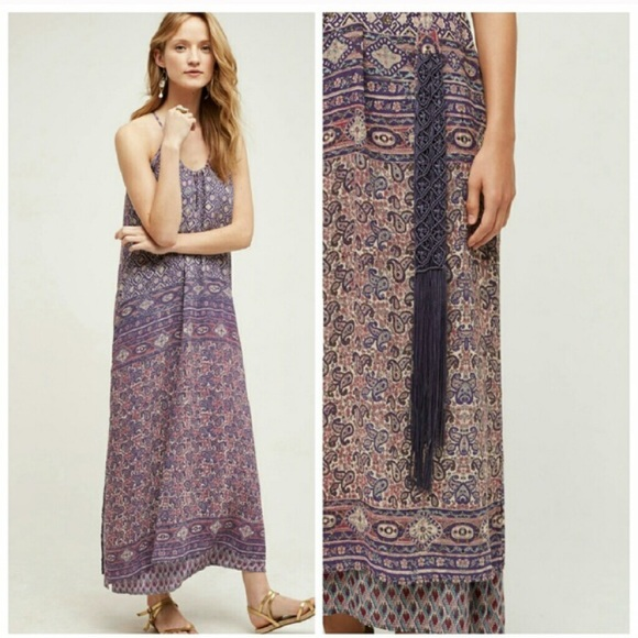 49 off anthropologie dresses skirts anthropologie one for Anthropologie mural maxi dress