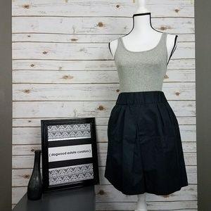 {Banana Republic} Black Mini/Skater Skirt-Sm