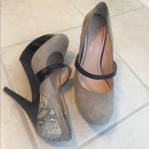🌿 3 for $20 Jessica Simpson Faux snake skin pumps