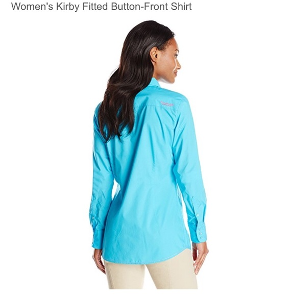 70 off ariat tops ariat women 39 s kirby fitted button for Womens button down shirts fitted