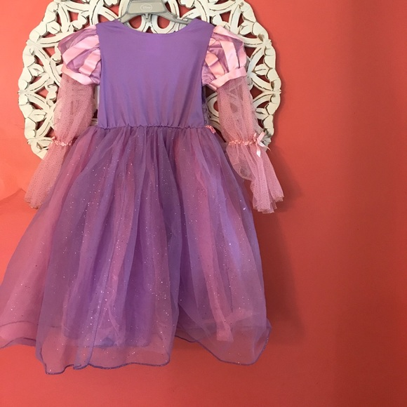 Disney Store Cinderella Light Up Costume Fancy Dress: Disney Store Girls Rapunzel Costume